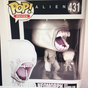 Covenant Funko POP Movies ~ NEOMORPH ALIEN w//TODDLER VINYL FIGURE ~ Alien